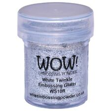 WOW!Embossing Powder 15ml - White Twinkle