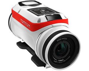 TomTom Bandit Base Action Cam 4K 16MP Ultra HD SD WLAN Kamera Wasserdicht* weiß