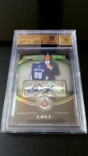 2008-09 KEVIN LOVE TREASURY ON CARD AUTO RC - THE ONLY BGS 10 ROOKIE - POP 1