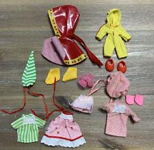 Vintage 1980s Strawberry Shortcake BERRY WEAR Clothing Fashions Shoes Pjs Dress