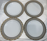 MIKASA FINE CHINA CAMBRIDGE Y0501 set of 4 SALAD PLATES EXCELLENT
