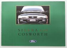 FORD Sierra 4x4 Cosworth - Prospekt Brochure - 1991 -  16 Seiten