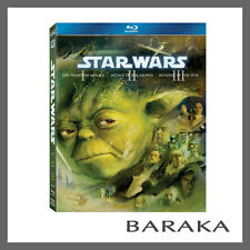 Star Wars: The Prequel Trilogy Episodes I-III Blu-ray RB New & Sealed