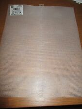 Darice 10 Mesh Plastic Canvas, Clear, 3 Sheets