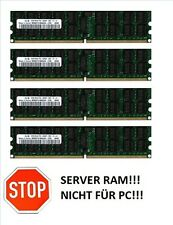 4x 4GB 16GB RAM 2Rx4 ECC RDIMM Registered Speicher 800 Mhz DDR2 PC2-6400P REG
