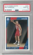 2016-17 Hoops COMPLETE 300 card SET with PSA 10 Gem Mint Ben Simmons Rookie Card