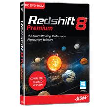 Redshift 8 Premium PC Dvd-rom Astronomy Planetarium Software 3d Space Flight