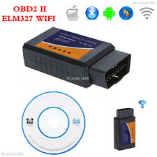 WiFi Wireless ELM327 OBDII OBD2 Car Diagnostic Scanner Tool Scan Code Reader Kit