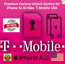 T-Mobile iPhone XS XS Max XR 100% PREMIUM FACTORY UNLOCK SERVICE FAST