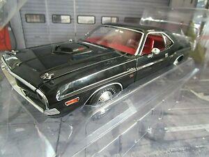 DODGE Challenger R/T 1970 Coupe V8 Muscle Car schwarz black NEU Greenlight 1:18