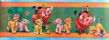 "DISNEY ""THE LION KING-GOOD FRIENDS PLAYING"" POSTER/BANNER: SIMBA, NALA & PUMBAA"