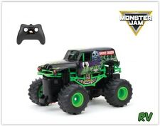Monster Truck Remote Control Toy Drive Jam Grave Digger RC Kids Racing Car Gift