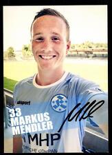 Markus Mendler Autogrammkarte Stuttgarter Kickers 2015-16 Original Sign+A 113375