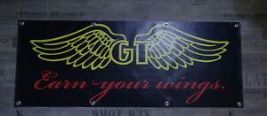 Werbe Banner für GT Bike Fans / Zaskar LE Avalanche BMX LTS RTS STS LOBO DH