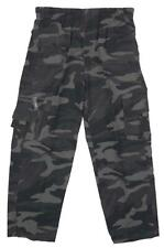 Boys Trousers Khaki Grey Soldier Camouflage Army Camo Zip Pocket 3 to 12 Years