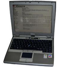 DELL LATITUDE D400 - Intel Centrino M 1.60 GHZ- 1 GB Wifi
