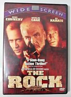 Video DVD - The Rock - Cage Connery Widescreen WS - NEW Open WORLDWIDE