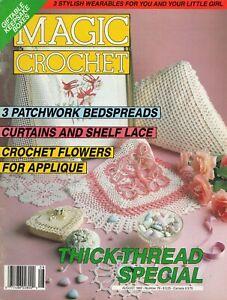 Magic Crochet Magazine August 1992  Doilies