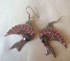 Hematite Glass Unbranded Drop/Dangle Costume Earrings
