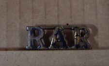 WW2 Rhodesian African Rifles shoulder title Shoulder Title Genuine