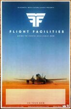 FLIGHT FACILITIES Down To Earth 2014 Ltd Ed RARE Poster +FREE Dance/Rock Poster