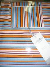 Brand New Bubba Blue Stripe Cot Sheet Set  Baby Girl Boy Cotton