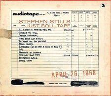 Just Roll Tape: April 26th, 1968 by Stephen Stills (Vinyl, Jun-2009, Rhino (Label))