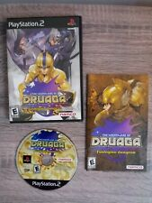 The Nightmare of Druaga Mysterious (Sony PlayStation 2, 2004) case manual