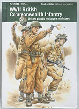 28MM - WWII BRITISH / COMMONWEALTH INFANTRY - ITALERI - BOLT ACTION - WARLORD