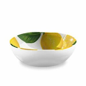 Eddingtons Lemon Fresh Bowl - Melamine - Outdoor Dining/Picnic - 17cm