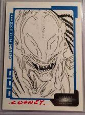 AVP; DANIEL COONEY AUTOGRAPH SKETCK CARD 50/300