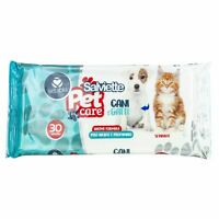 Set promo 12 Pz. Salviettine da 30  pet care igienizzanti per animali tot.360 pz