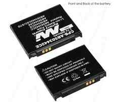 AB503442C 800mAh battery for Samsung SGH- D900i D908 T729 T519