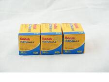 3 x KODAK ULTRAMAX 400 ISO 400 35mm COLOR NEGATIVE FILM FRESH ! Fast Shipping