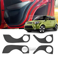 Carbon Door Decal Sticker Cover Kick Protector for KIA 2014 - 2017 ALL New Soul