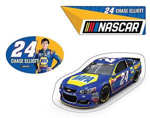 NASCAR #24 Chase Elliot 3 PC Magnet Set-NASCAR Magnet Set