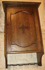 English oak humidor/pipe box/smokers cabinet/Trumbridge Wells Veneer/Fathers Day