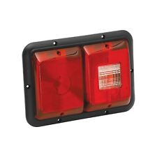 Bargman 34-84-008 Recessed Double Trailer Light For 84 Series Red Backup