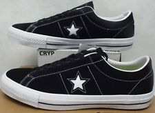 New Mens 11.5 Converse One Star Suede Skate OX Black Leather 149908C $70