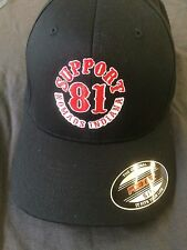 Hells Angels Nomads Indiana Support Hat Black Small/medium
