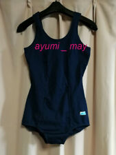AM21 ^_^Japanese SchoolGirl Swimsuit. Made in Japan. Navy. Excellent ! Length 68