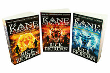 Kane Chronicles 3 Books Young Adult Collection Paperback Set By Rick Riordan