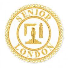 Senior London Grand Rang Complet Robe Tablier Badge