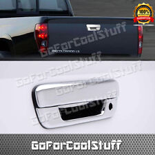 For 04~08 09 10 11 12 Chevy Colorado Tailgate Chrome Handle With Keyhole Covers