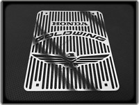 HONDA GL1000 GOLDWING ASPENCADE Style Polished Radiator Grill - GL 1000