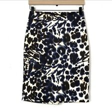 Ann Taylor Watercolor Pencil Skirt Size 2