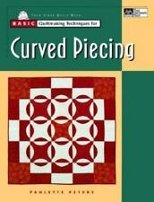 Curved Piecing Quilt Technique Book from Patchwork Place 1999 Sewing Quilting