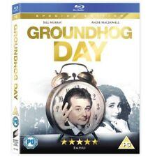 Groundhog Day [Blu-ray] [1993] [DVD][Region 2]