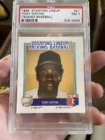 1988 SLU Talking Baseball Tony Gwynn #21 PSA 7 San Diego Padres Hof Rare