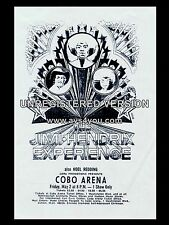 "Jimi Hendrix Cobo 16"" x 12"" Photo Repro Concert Poster"